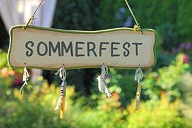 Sommerfest am 19.08.2017 von 11 – 16 Uhr